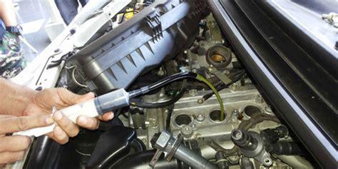 Kipas Pembersih Kaca Mobil hati hati pakai carbon cleaner untuk bersihkan mesin