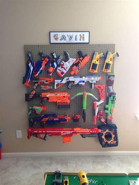 pin  kristi berquist  braedens room   kids bedroom nerf gun storage toy rooms