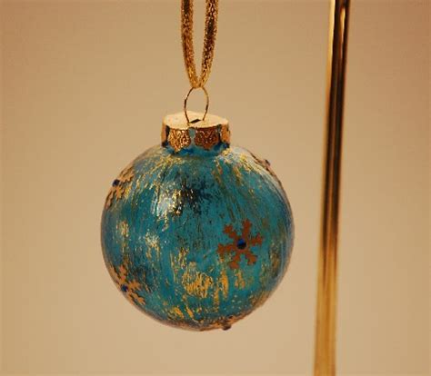 christmas ornaments by eb blue new