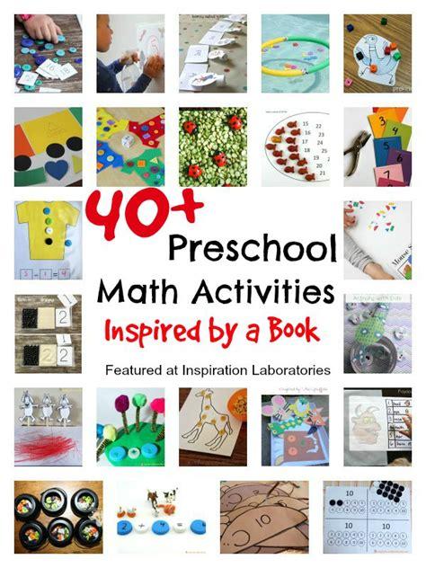 kindergarten activities with books 40 preschool math activities inspired by a book