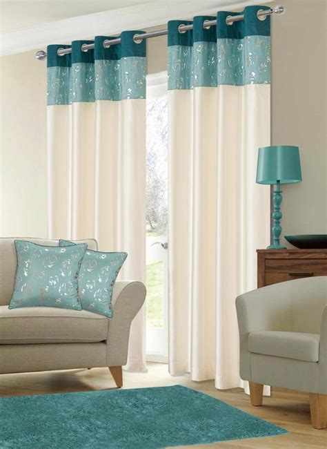 faux silk teal ring top geneva faux silk ring top eyelet curtains voile panels