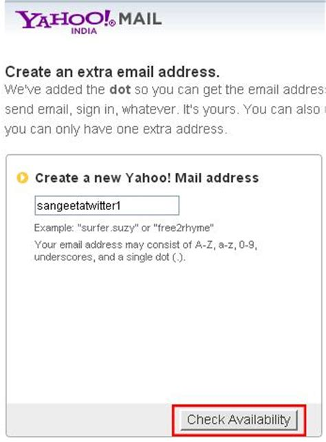 yahoo email id create how to create multiple twitter accounts with same email
