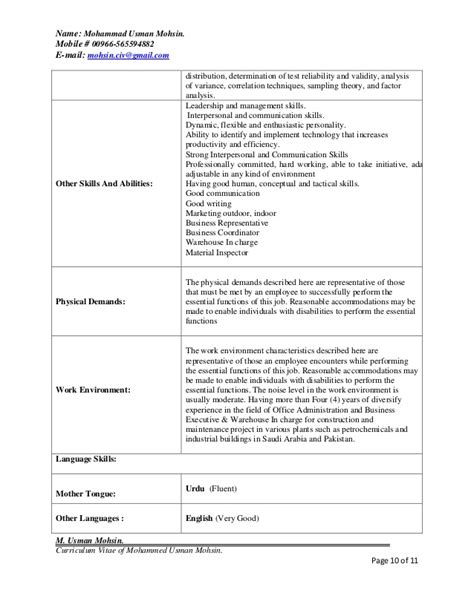 hr admin manager resume format hr or admin manager resume
