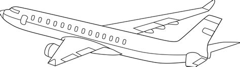 airplane clipart coloring page airplane clipart black and white clipart panda free