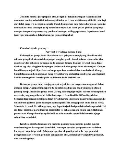 contoh laporan narasi singkat contoh karangan eksposisi hortatorik gamis murni