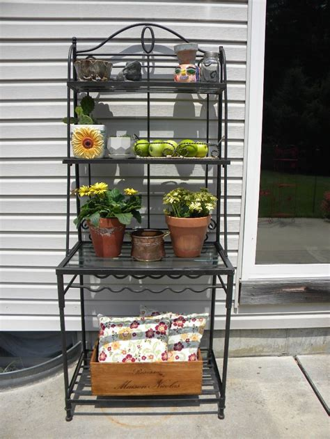 Patio Bakers Rack by 1000 Images About Bakers Rack Ideas On Patio