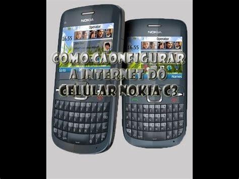 Kesing Hp Nokia C3 como configurar a do celular nokia c3