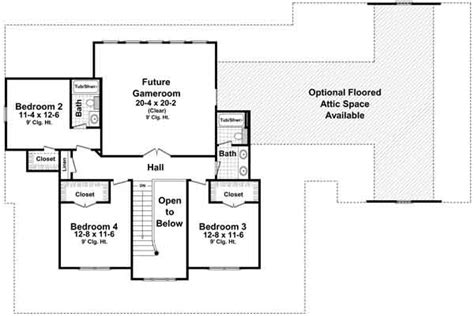 Country Style House Plans Plan 2 305 3000 Square Foot Country House Plans