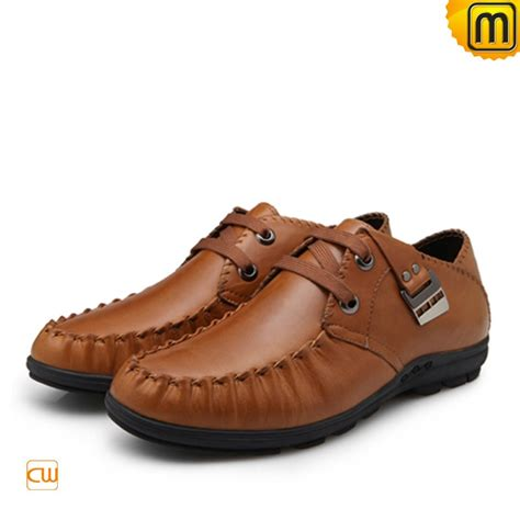 mens flat loafers s causal leather flat loafers cw701115