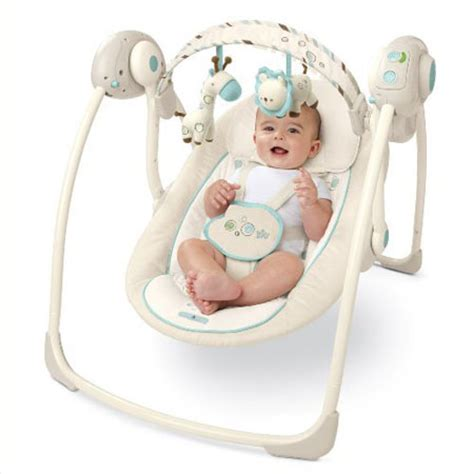 swing to harmony bright starts comfort harmony portable swing with swing