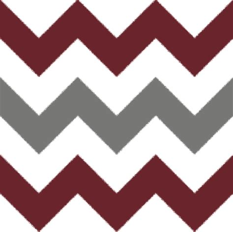 Eco Friendly Upholstery Grey And Burgundy Chevron Stripes Fabric