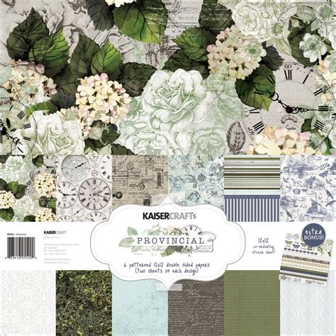 Kaiser Craft Paper - kaisercraft provincial collection paper pack