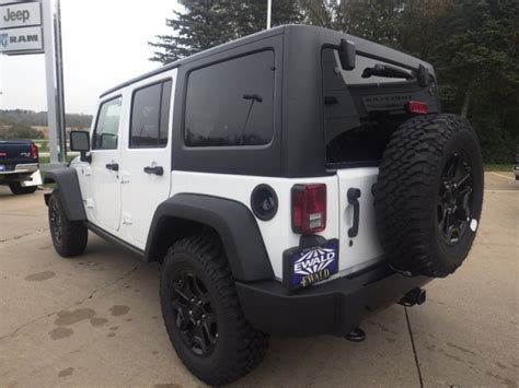 Jeep Milwaukee New Jeep Wrangler Unlimited For Sale In Milwaukee Ewald Cjdr