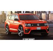 New Volkswagen Atlas Tries Out An R Suit In Orange