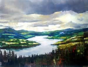 landscape painting nature landscapes zlatko