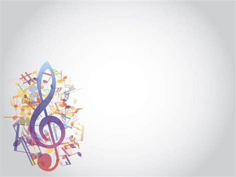 templates for powerpoint music music notes backgrounds wallpaper cave