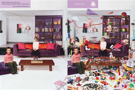 print ad clothes for kids living room