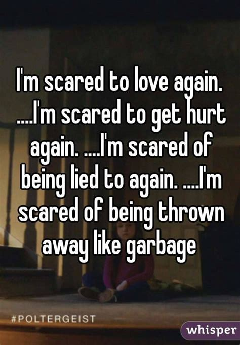 My S Type Boyfriend One New Segel quot i m scared to again i m scared to get hurt
