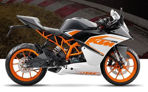 Ktm 200 Rc Credr Get Ktm 2017 Rc 200 Launched At Rs 1 72 Lakh And