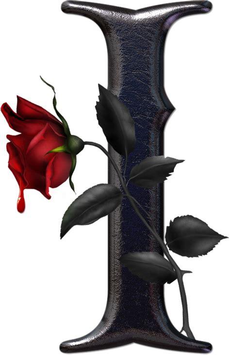 imagenes de letras goticas j letras goticas con rosas imagui