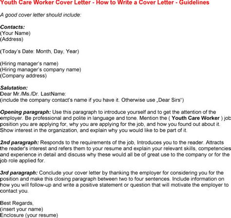 youth worker cover letter youth worker cover letterhtml