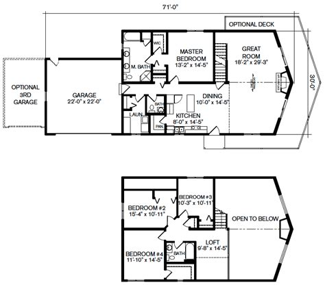 vacation home floor plans palmer bay vacation home panelized floor plan