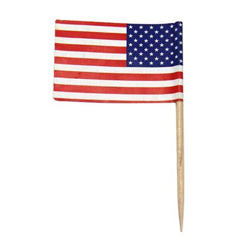 kuchen amerika flagge 100stk picker usa amerika kuchen picks piekser