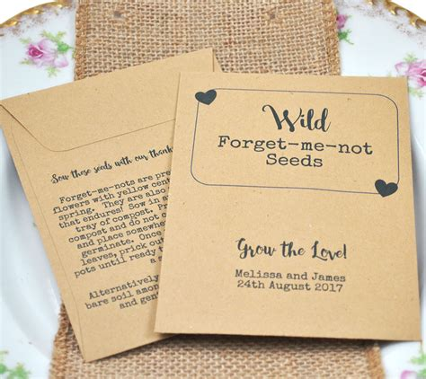 Wedding Favors Seeds by Forget Me Not Seeds Vintage Wedding Favours Favour