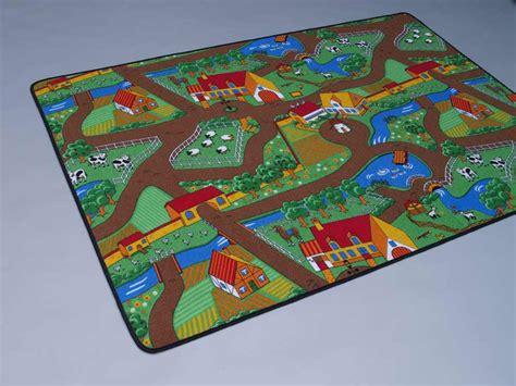 teppich scheune de duo play kinderteppich 200x200 cm wendeteppich ebay
