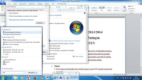 Remote Ip Address Lookup Cara Melakukan Remote Dekstop Zone