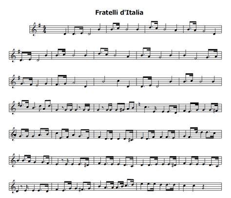 ninna nanna modena testo musica e spartiti gratis per flauto dolce inno d italia