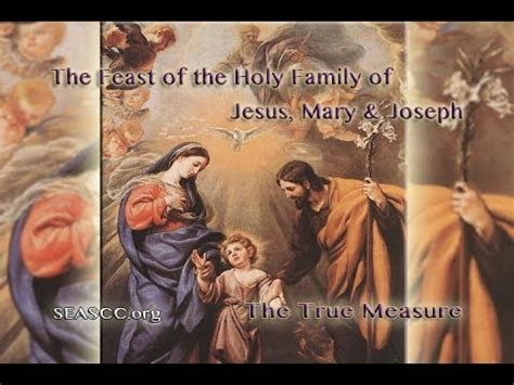 holy family of jesus and joseph the feast of the holy family of jesus and joseph