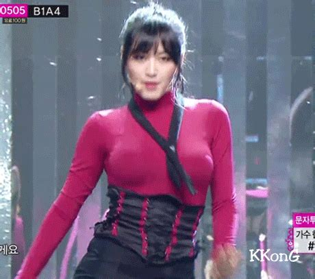 Blouse Big Kara members who are in charge of bust k pop k fans