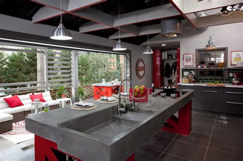 Garage Kitchen by Room Hgtv