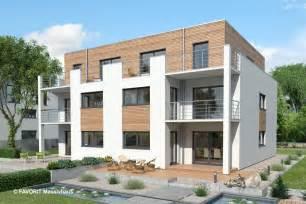 Fertighaus 4 Wohnungen by Favorit Massivhaus