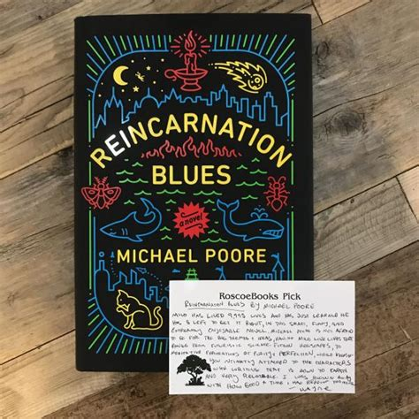reincarnation blues a novel welcome to roscoebooks roscoebooks