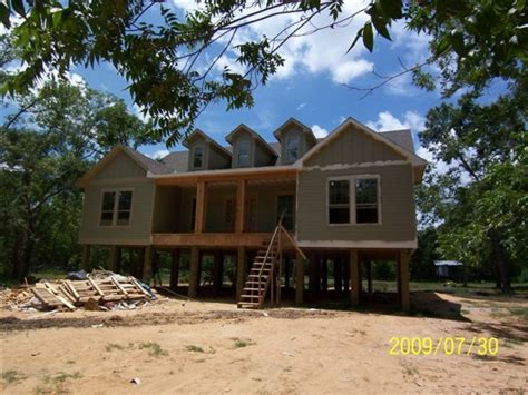 pier and beam house plans rustic star custom homes m j construction