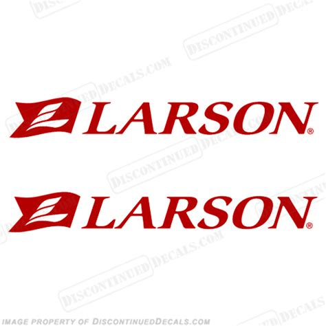 larson boat decals for sale larson boat logo decals set of 2