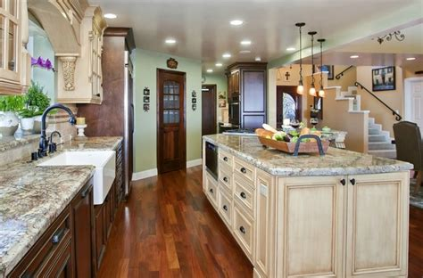 Kitchen Great Room Design Tuscany Style Kitchen Great Room Mediterranean Kitchen San Diego By Gourmet Galleys