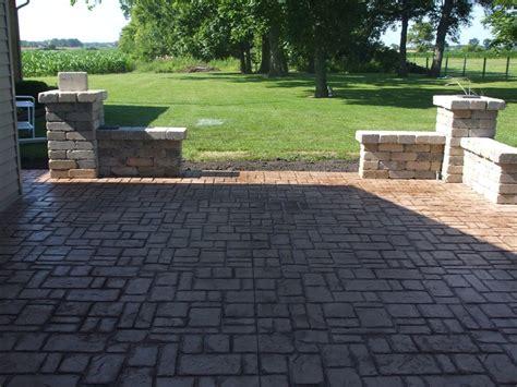 Images Of Concrete Patios by Thill Concrete Projects Concrete Contractors Sted Concrete Patios Driveways