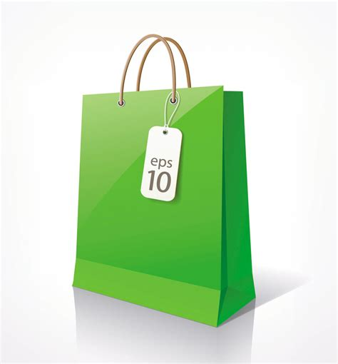 free shopping bag vector clipart best