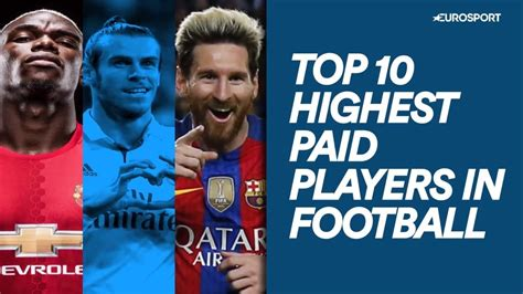 top 10 highest paid players in football eurosport