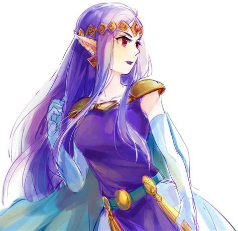 princess zelda hair the legend of zelda a link between worlds princess