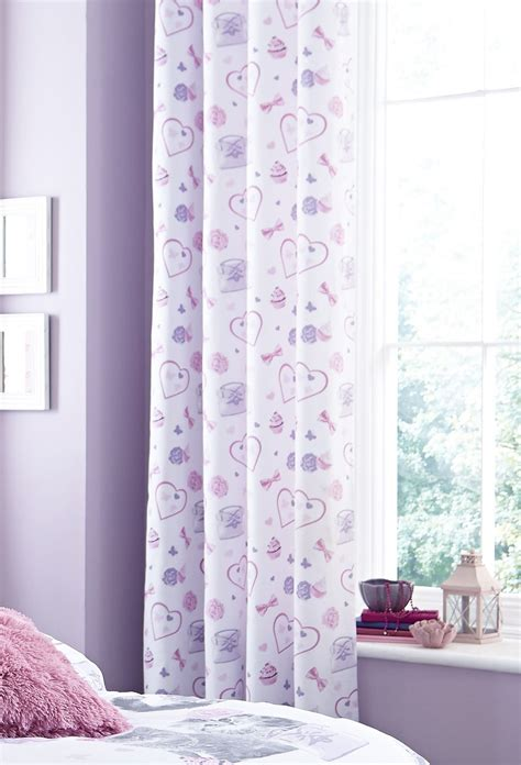 girls curtains ready made kids curtains fully lined ready made eyelet ring top 66 x