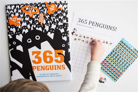 Penguin Craft Based On 365 Penguins Jdaniel4s - quot 365 penguins quot and a new year s resolution activity 183 book