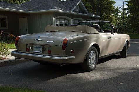 rolls royce corniche ii 1986 rolls royce corniche ii bramhall classic autos