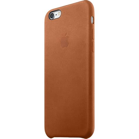 Apple Iphone 6s Leather Original Brown apple iphone 6 6s leather saddle brown mkxt2zm a b h