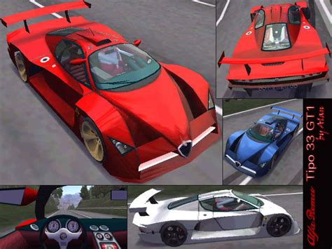 alfa romeo tipo 33 gt1 need for speed high stakes alfa romeo tipo 33 gt1 nfscars