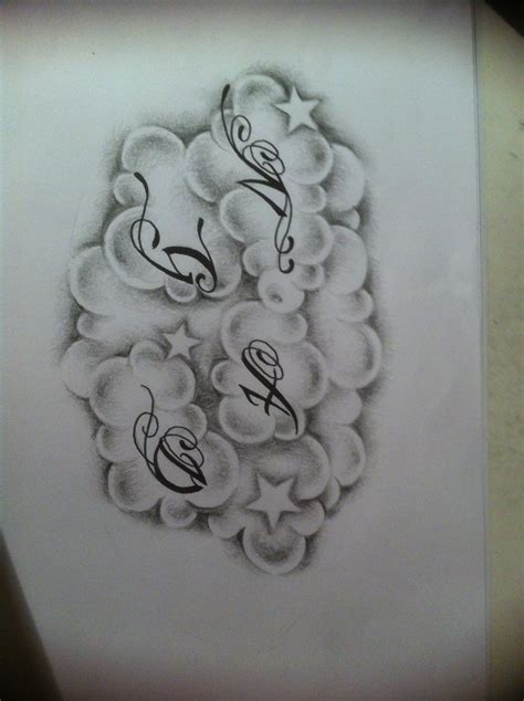 cloud tattoo design clouds design by tattoosuzette on deviantart