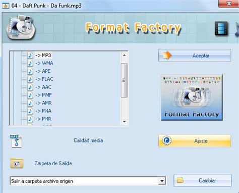 descargar format factory full 1 link descargar conversor de audio v 237 deo imagen formatfactory